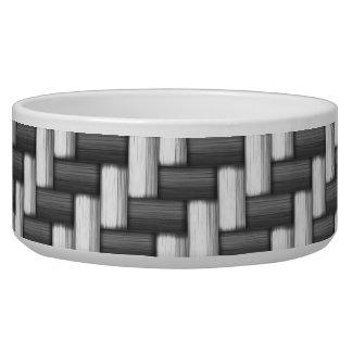 Carbonfiber Carbon Fiber (faux) Dog Food Bowl