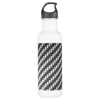 Carbonfiber Carbon Fiber (faux) 24oz Water Bottle