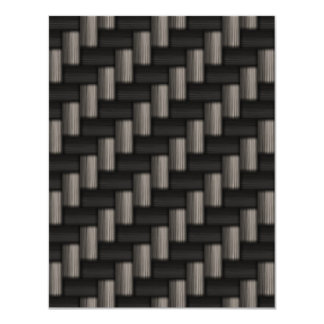 Carbonfiber Pattern Checkered Card