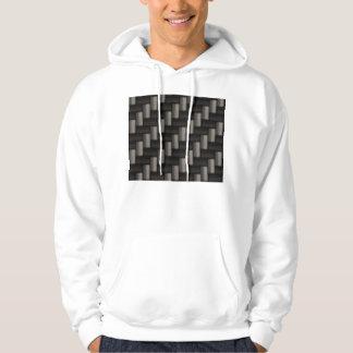 Carbonfiber Pattern Checkered Hoodie