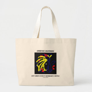 Carbonic Anhydrase (Chemical Structure) Jumbo Tote Bag