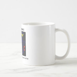Carbonic Anhydrase (Chemical Structure) Classic White Coffee Mug