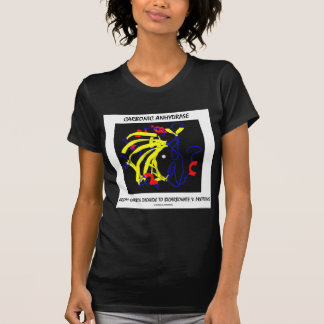 Carbonic Anhydrase (Chemical Structure) Tee Shirts