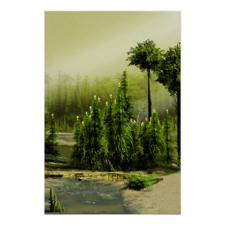 Carboniferous forest posters