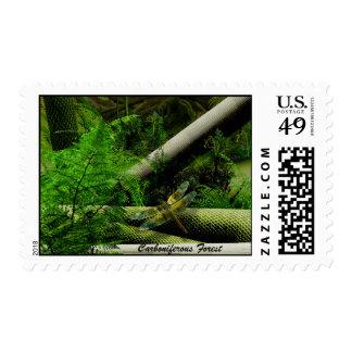 Carboniferous Forest Stamp