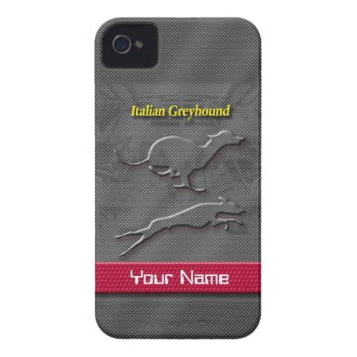 Carbonlook run2 de Iggy para iphone4 Case-Mate iPhone 4 Cárcasas