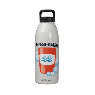 Carbono-nación Botellas De Beber