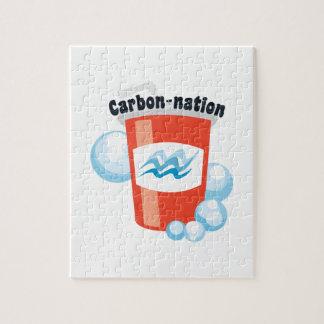 Carbono-nación Rompecabeza