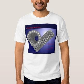 Carbono Nanotubes (frente) Camisas