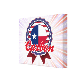 Carbono TX Impresión En Lona Estirada