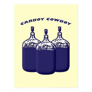 Carboy Cowboy Postcard