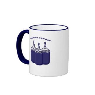 Carboy Cowboy Ringer Coffee Mug