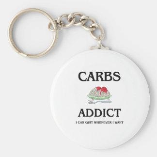 Carbs Addict Keychains
