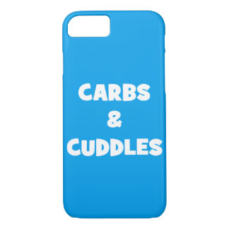 Carbs and Cuddles - Funny Novelty Food iPhone 8/7 Case