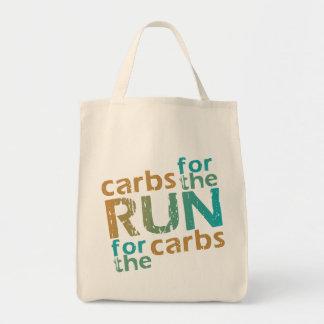 Carbs for the RUN * RUN for the Carbs Tote Bag