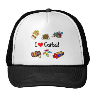 carbs trucker hat