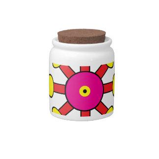 Carbuncle Candy Jar