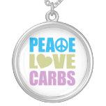 Carburadores del amor de la paz pendientes