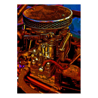 Carburettor (2) large business cards (Pack of 100)