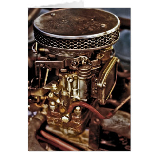 Carburettor Greeting Card
