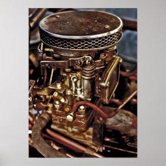 Carburettor Poster