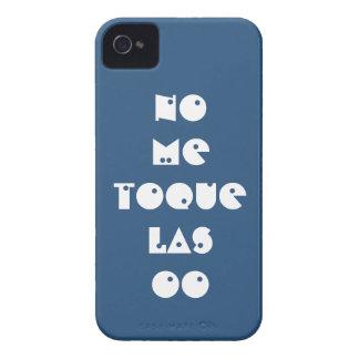 Carcasa graciosa con texto personalizado de broma iPhone 4 Case-Mate cárcasas