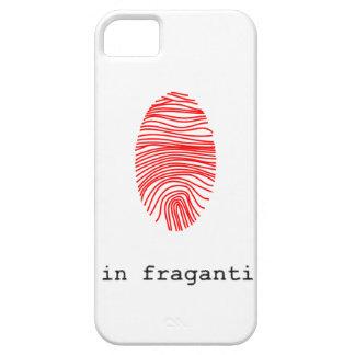 Carcasa huella digital funda para iPhone 5 barely there