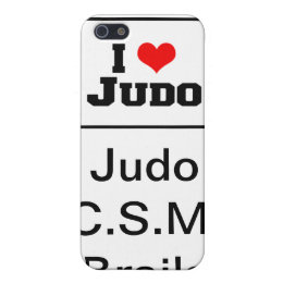 Carcasa Iphone 4 I love Judo! semnata JCB Case For iPhone SE/5/5s