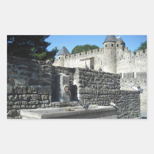 Carcasona, Francia Rectangular Altavoz