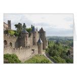 Carcassonne Castle, La Cite Stationery Note Card