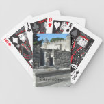 Carcassonne, France Bicycle Poker Cards
