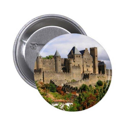 Carcassonne, France Button