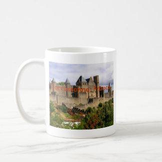 Carcassonne, France Classic White Coffee Mug