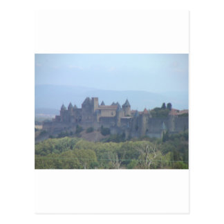 Carcassonne, Medieval Walled City Postcard