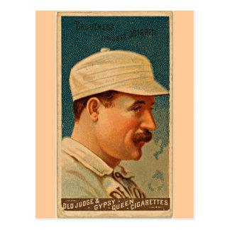 Carcayúes de Detroit, 1888, tarjeta de béisbol del Postal