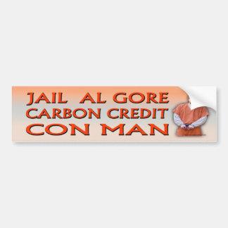 Cárcel Al Gore Etiqueta De Parachoque