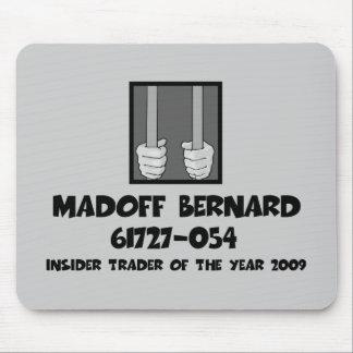 Cárcel anti de Bernard Madoff Alfombrillas De Ratón