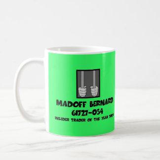 Cárcel anti de Bernard Madoff Tazas