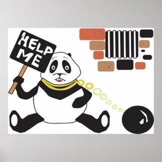 Cárcel de la panda póster