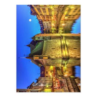 """Cárcel de Palais de l'Ile en la ciudad vieja de Invitación 5.5"""" X 7.5"""""""