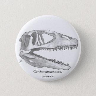 Carcharodontosaurus saharicus skull button