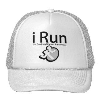 Carcinoid Cancer Awareness I Run Trucker Hat