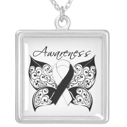 Carcinoid Cancer Awareness Tattoo Butterfly Jewelry