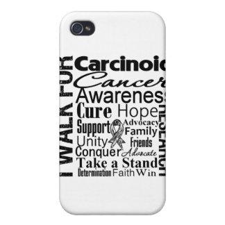 Carcinoid Cancer Awareness Walk iPhone 4/4S Covers