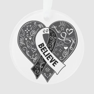 Carcinoid Cancer Believe Ribbon Heart