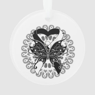 Carcinoid Cancer Butterfly Heart Ribbon