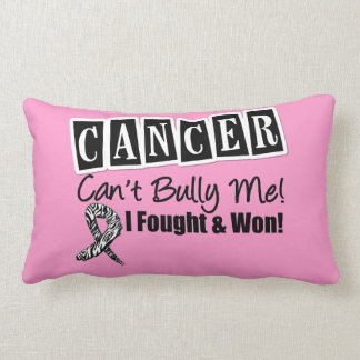 Carcinoid Cancer Can't Bully Me...I Fought I Won Throw Pillows