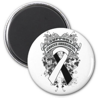 Carcinoid Cancer - Cool Support Awareness Slogan 2 Inch Round Magnet
