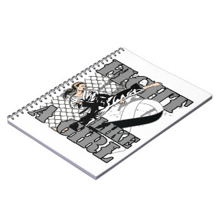 Carcinoid Cancer Fight Like A Girl Kick Notebooks