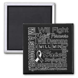 Carcinoid Cancer Fight Persevere Overcome Win Magnets